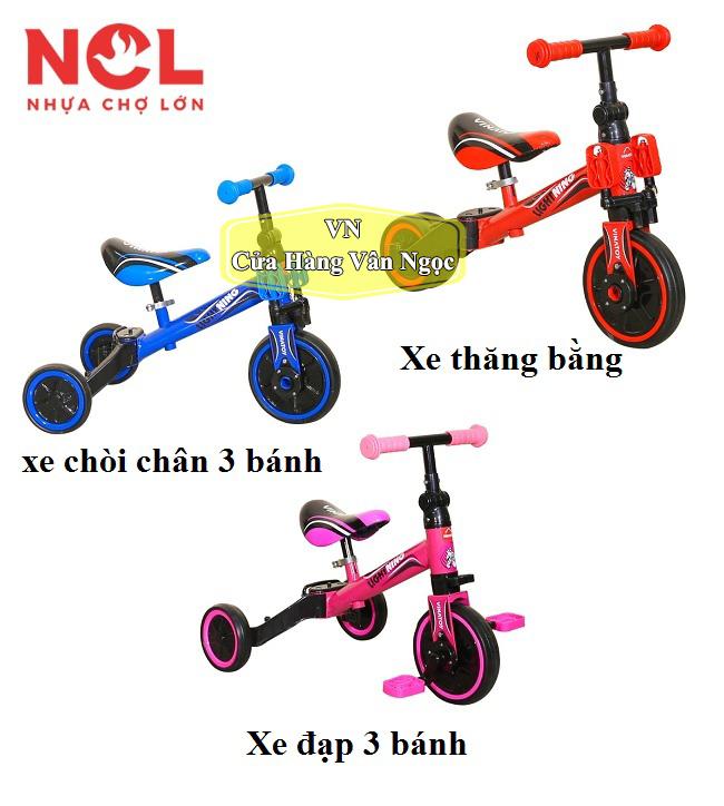 Xe chòi chân 3 bánh Trẻ Em – xe đạp ba bánh – Nhựa Chợ Lớn