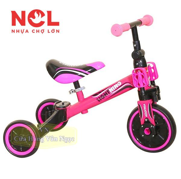 Xe chòi chân cho Em Bé – xe thăng bằng có bàn đạp – Nhựa Chợ Lớn