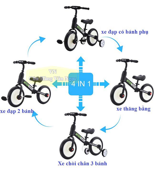 Xe thăng bằng – xe chòi chân – xe đạp Trẻ Em - 101A