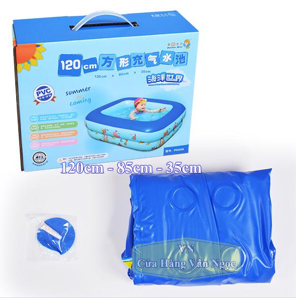 Bể Bơi Trẻ Em mini 1m2