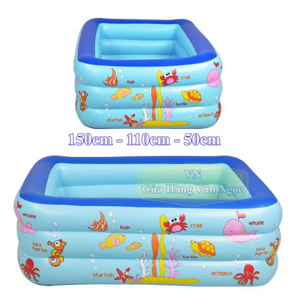 Hồ bơi phao Summer mini cho Bé 1m5