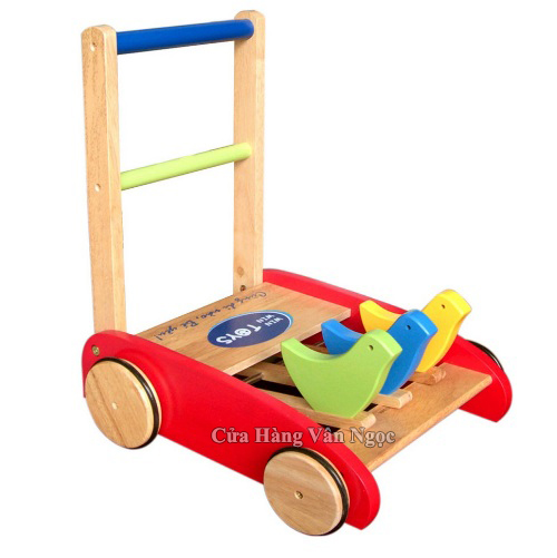 Xe Tập Đi Bằng Gỗ Winwin-toys