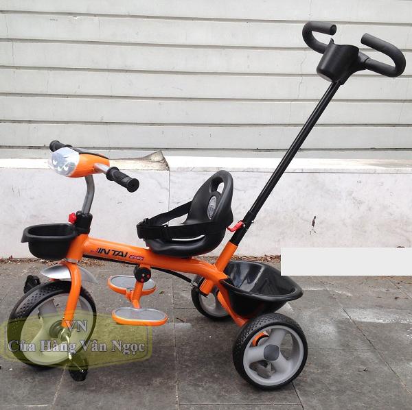 Xe đạp ba bánh cho Bé có tay đẩy JT 516