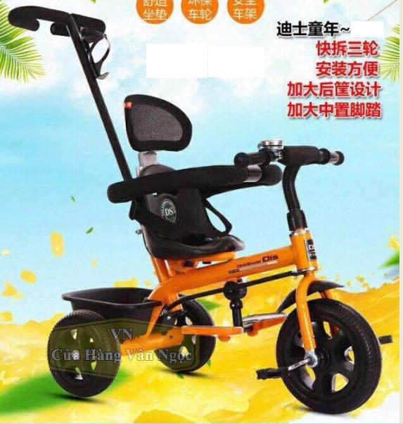 Xe đạp ba bánh Trẻ Em có cần đẩy 818