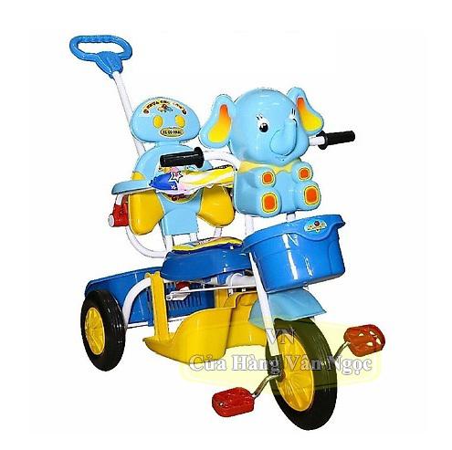 Xe đạp ba bánh Trẻ Em Nhựa Chợ Lớn hình con Voi