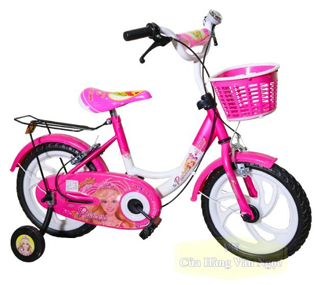 Xe đạp cho Bé Gái 3 tuổi màu hồng