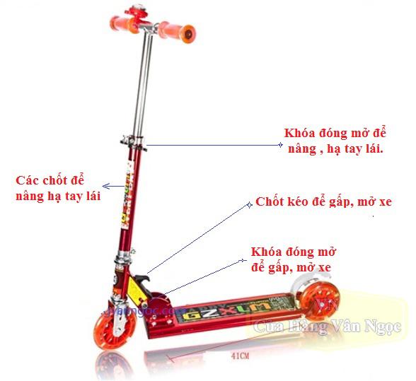 Xe trượt Scooter 2 bánh