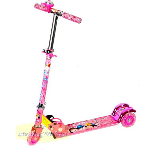 Xe Trượt (Scooter) 3 Bánh Trẻ Em gấp gọn 2009A