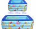 Bể bơi phao hình chữ nhật cho Bé 1m8