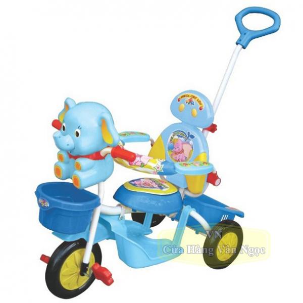 Xe đạp ba bánh Nhựa Chợ lớn hình con Voi